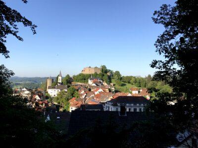 Lindenfels, Burg und Bürgerturm