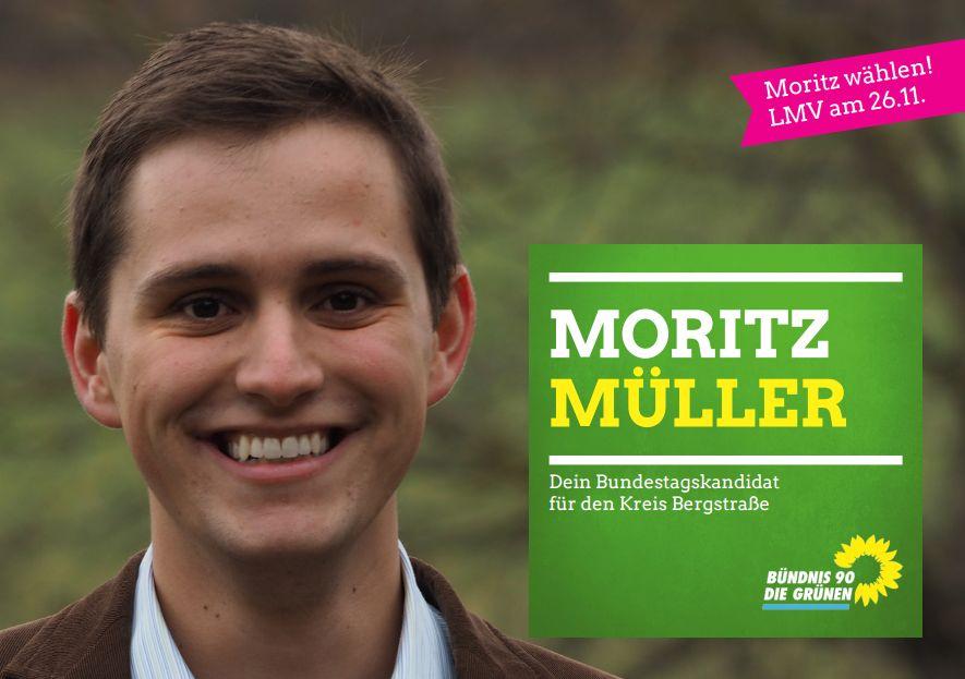Moritz Müller Postkarte