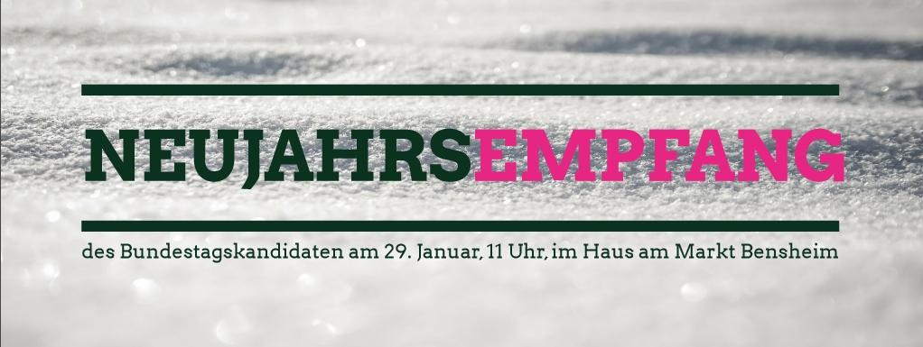 Neujahrs-Empfang mit Moritz Müller