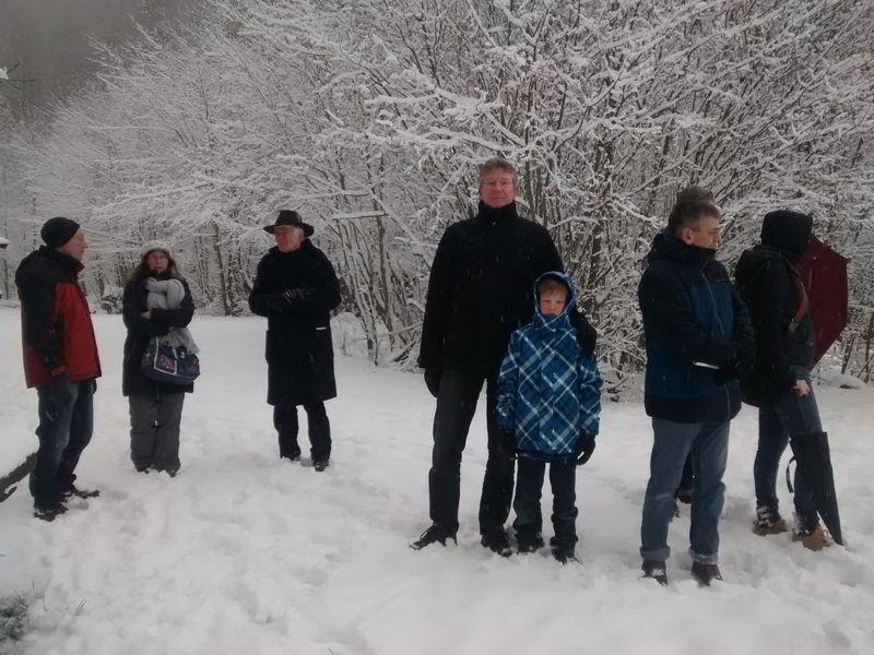 Winterwanderung Grüne Grillhütte